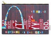 St. Louis Skyline License Plate Art Carry-all Pouch