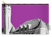 St Louis Skyline Union Station - Plum Carry-all Pouch