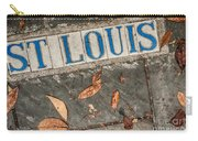St Louis Street Tiles In New Orleans Carry-all Pouch