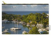St Lucia Harbor Carry-all Pouch