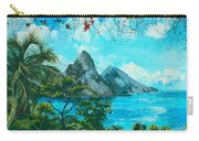 St. Lucia - W. Indies Carry-all Pouch