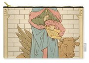 St Luke The Evangelist Carry-all Pouch by English School