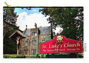 St Lukes Church Carry-all Pouch