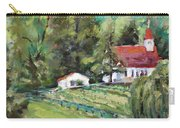 St. Lukes Church And Jefferson Vineyards In Charlottesville Va Carry-all Pouch