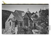 St Malo Chapel On The Rock Colorado Bw Carry-all Pouch