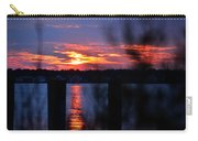 St. Marten River Sunset Carry-all Pouch