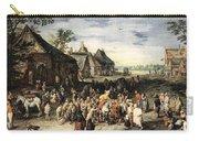 Saint Martin Dividing His Cloak London Carry-all Pouch
