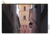 St. Martin's Church Bell Tower In Warsaw Carry-all Pouch