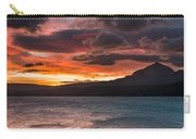 St. Mary Lake Dawn 2 Carry-all Pouch