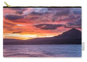 St. Mary Lake Dawn 4 Carry-all Pouch