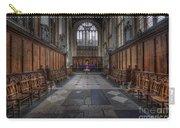 St Mary The Virgin Church - Choir And Altar Carry-all Pouch