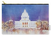 St. Paul Capitol Winter Carry-all Pouch
