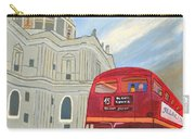 St. Paul Cathedral And London Bus Carry-all Pouch