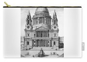 St. Paul Cathedral - London - 1792 Carry-all Pouch