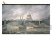 St. Paul's Cathedral From The Southwark Bank Carry-all Pouch