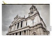 St Pauls Cathedral In London Uk Carry-all Pouch