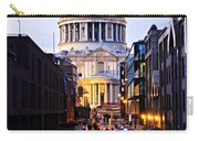 St. Paul's Cathedral London At Dusk Carry-all Pouch