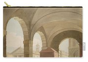 St. Pauls, Covent Garden C.1765-75 Graphite And Wc On Paper Carry-all Pouch