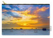 St. Pete Beach Sunset Carry-all Pouch