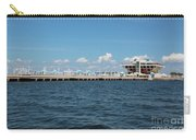 St Pete Pier Carry-all Pouch by Carol Groenen