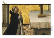 St. Peter Martyr In Prayer Carry-all Pouch