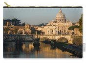 St Peter Morning Glow - Impressions Of Rome Carry-all Pouch