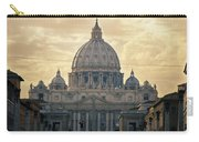 St Peter's Afternoon Glow Carry-all Pouch by Joan Carroll