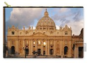 St. Peters Basilica Carry-all Pouch by Adam Romanowicz