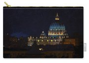 St Peters Basilica At Night Carry-all Pouch