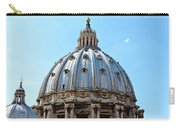 St Peters Basilica Dome Vatican City Italy Carry-all Pouch