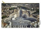 St Peter's Square Carry-all Pouch by Joan Carroll