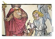 St. Roch (c1350-c1379) Carry-all Pouch