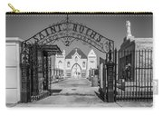 St Roch's Cemetery Bw Carry-all Pouch