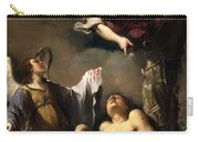 St. Sebastian Succoured By Two Angels Carry-all Pouch
