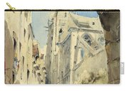 St. Severin Paris Carry-all Pouch by James Holland