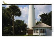 St. Simon's Island Georgia Lighthouse Painted Carry-all Pouch