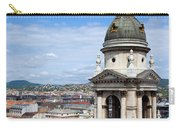 St Stephen's Basilica Bell Tower In Budapest Carry-all Pouch