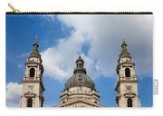 St. Stephen's Basilica Dome And Bell Towers Carry-all Pouch