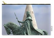 St Stephen's Statue In Budapest Carry-all Pouch