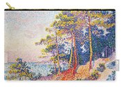 St Tropez The Custom's Path Carry-all Pouch by Paul Signac