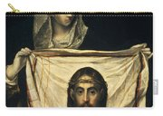 St Veronica With The Holy Shroud Carry-all Pouch