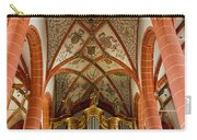 St Wendel Basilica Organ Carry-all Pouch