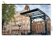 Staalstraat Bridge On Kloveniersburgwal Canal In Amsterdam Carry-all Pouch