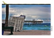 Stacked Beach Chairs Carry-all Pouch