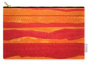 Stacked Landscapes Original Painting Carry-all Pouch