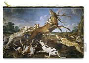 Stag Hunt Carry-all Pouch