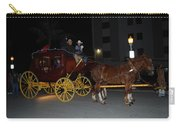 Stagecoach And Horses Carry-all Pouch