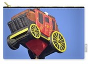 Stagecoach In The Sky Carry-all Pouch