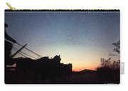Stagecoach Riding Off Into The Sunset Carry-all Pouch