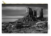 Stagecoach Rock Monument Valley Carry-all Pouch